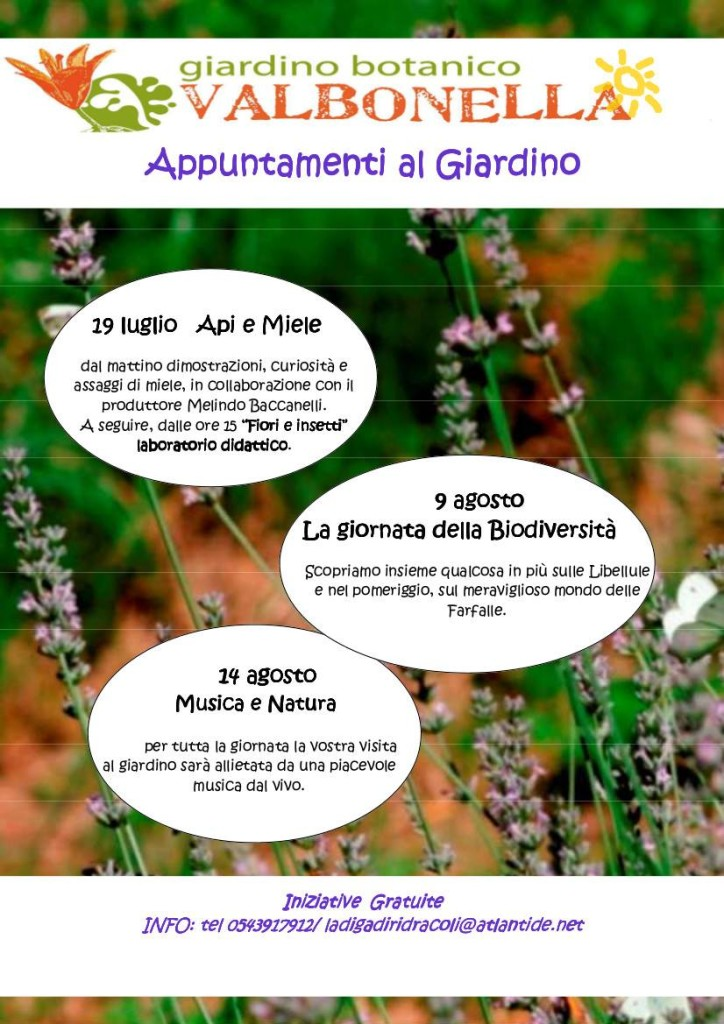 evento libellule 9ago15 Valbonella PNFC